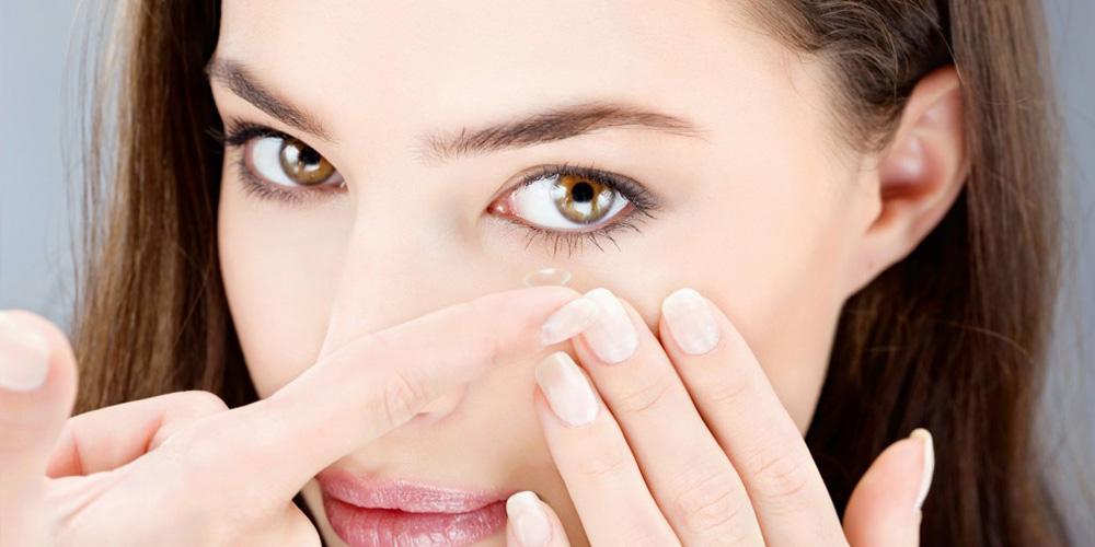 Las lentes de contacto en la adolescencia